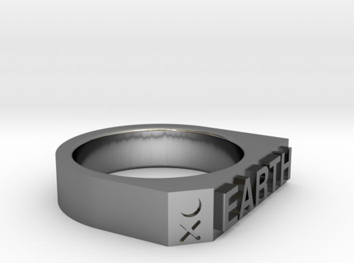 Earth Ring - Captain series - Mulder&Skully 3d printed