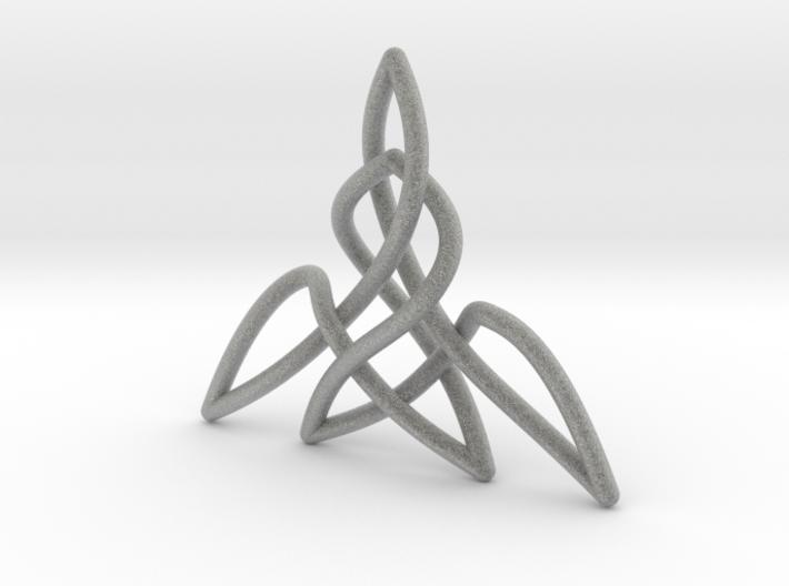 Triquetra Pendant 2 3d printed