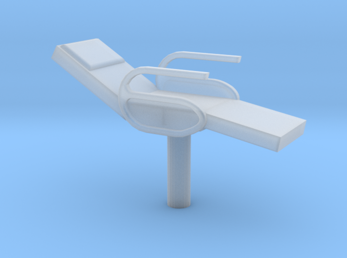 O Scale Price Test-Barber Chair 3d printed