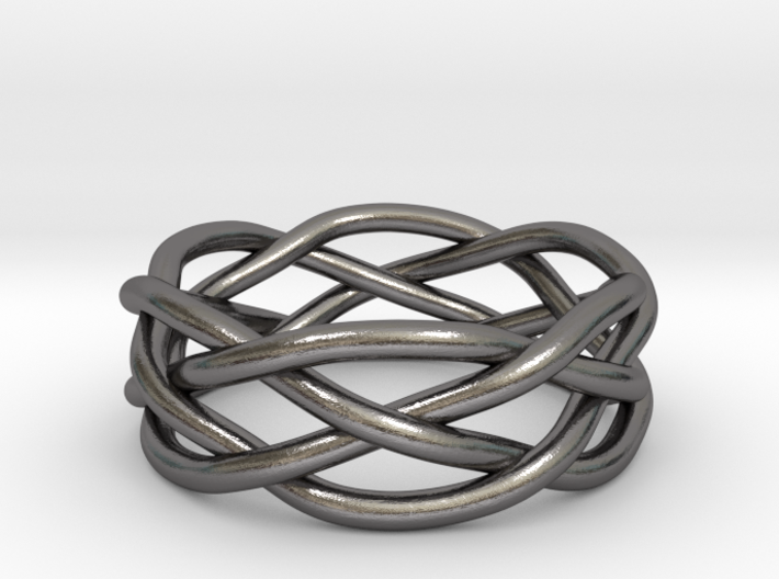 Dreamweaver Ring (Size 7) 3d printed