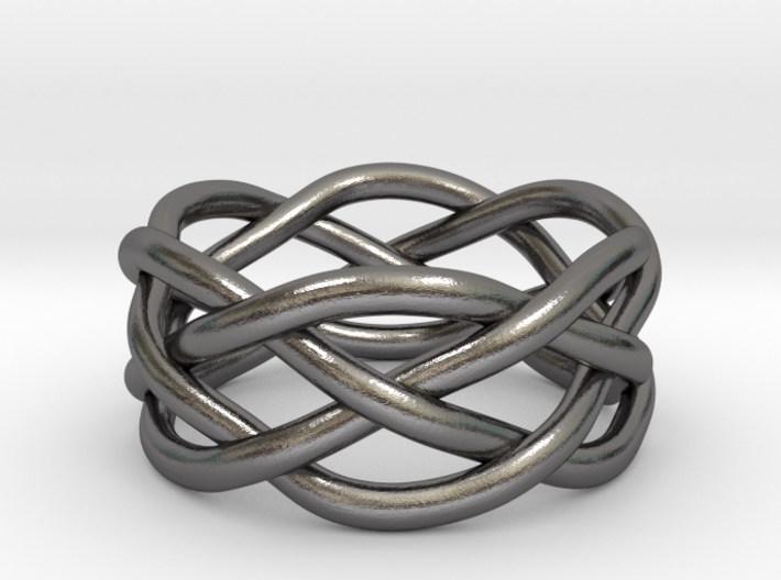 Dreamweaver Ring (Size 6) 3d printed