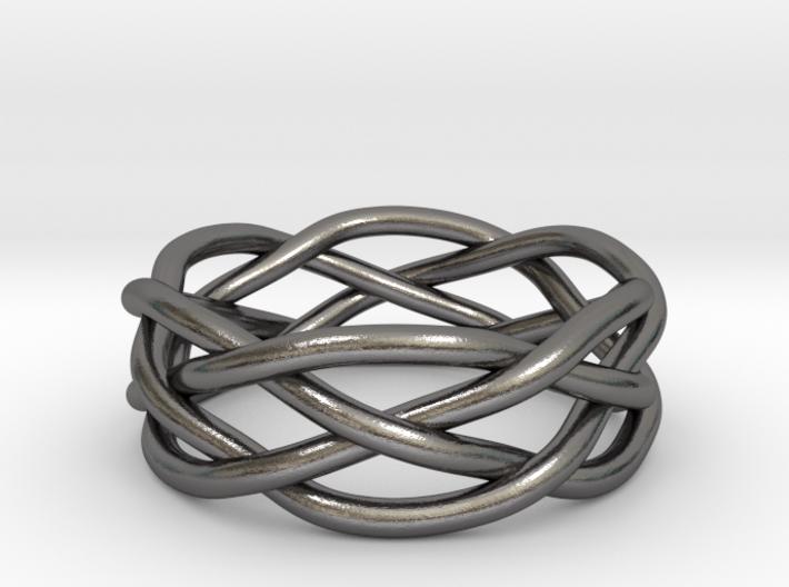 Dreamweaver Ring (Size 10.5) 3d printed