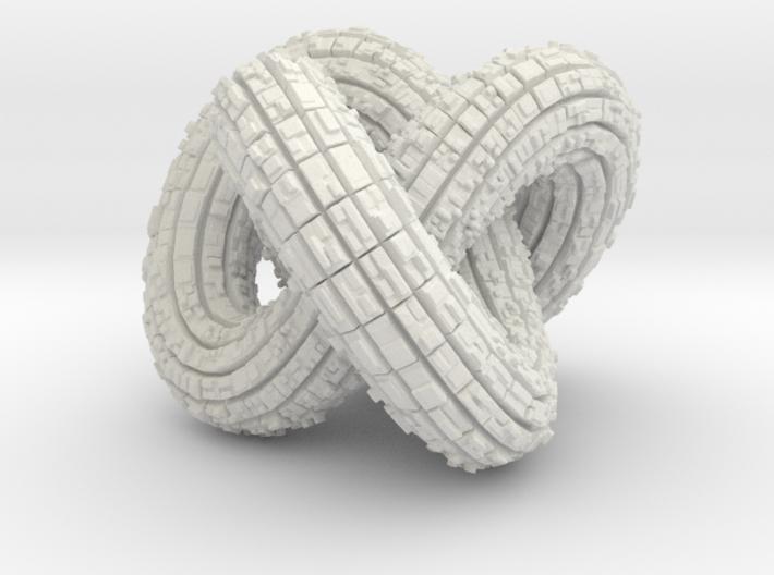 Torus knot 3d printed