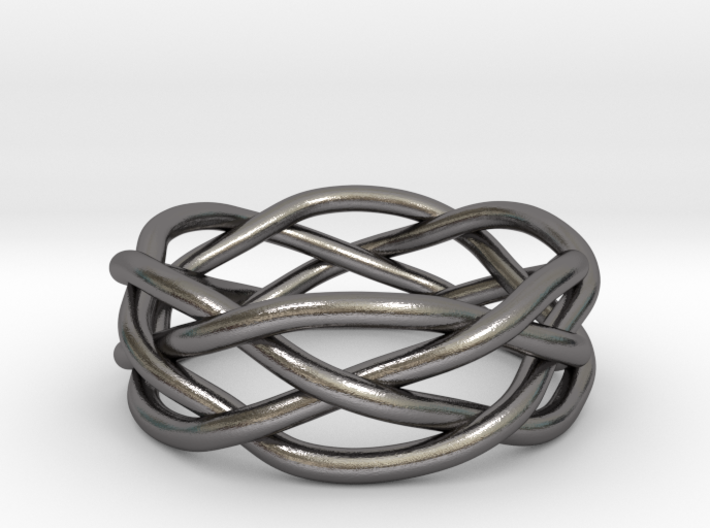 Dreamweaver Ring (Size 12.5) 3d printed