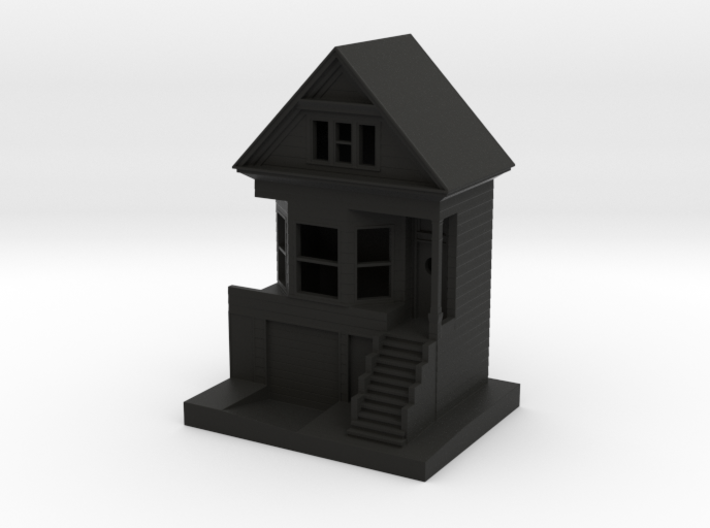 """""""The Black House"""" Ornament 3d printed"""