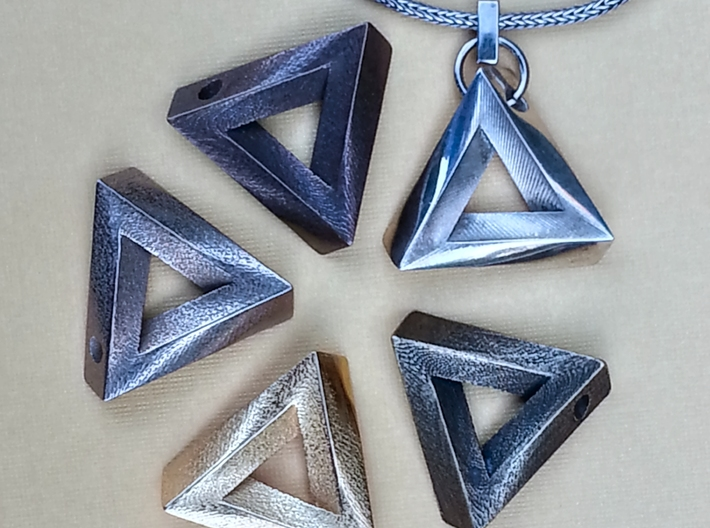 Impossible Pendant! 3d printed Impossible Pendant