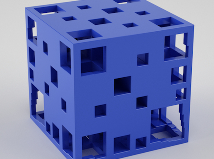 Fractal Cube 30mm 3d printed