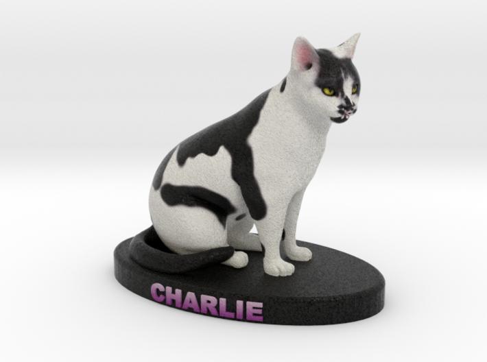Custom Cat Figurine - Charlie 3d printed