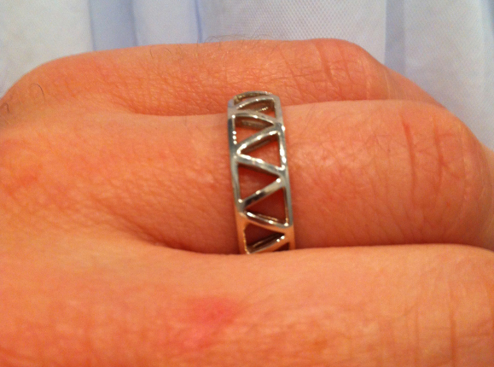 Truss Ring 2 size 10.5 3d printed