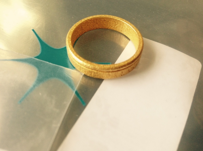 Ring Let Love Last (size 10.5)  3d printed