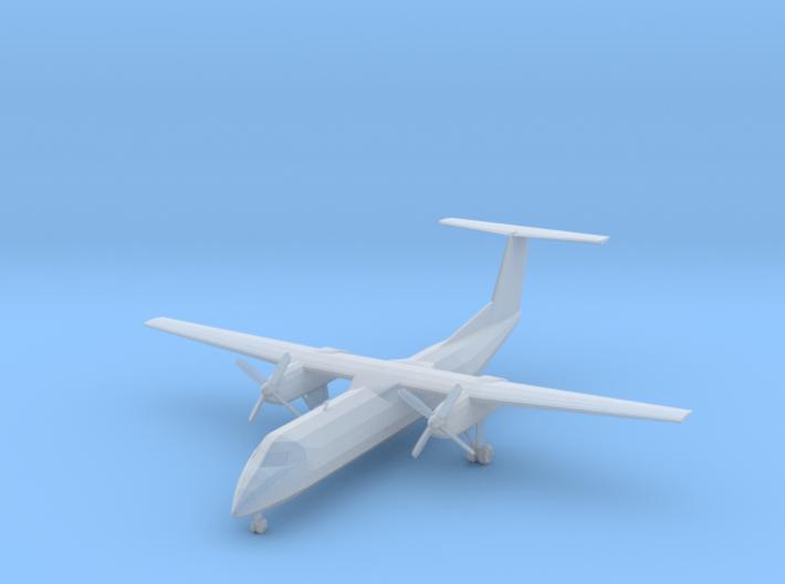 1:200 Dash 8-300 Airliner 3d printed