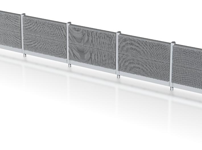Beton-Schallschutzwand 5 Elemente 3d printed