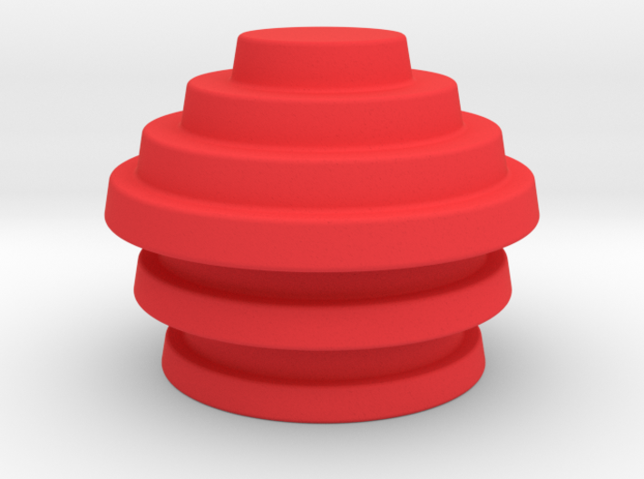 Devo Hats 3 Parts = 3 sizes / NOT LIFE SIZE!​ 3d printed