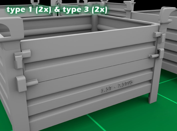 Stackable Container Set 2 3d printed
