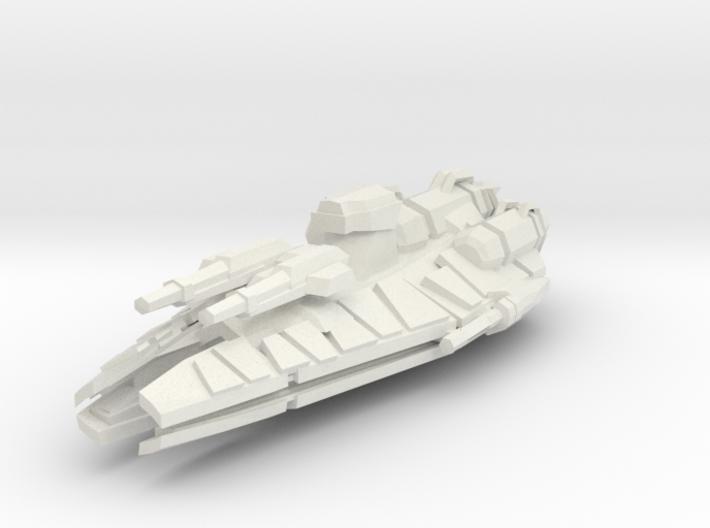 Conqueror Class Frigate 3d printed