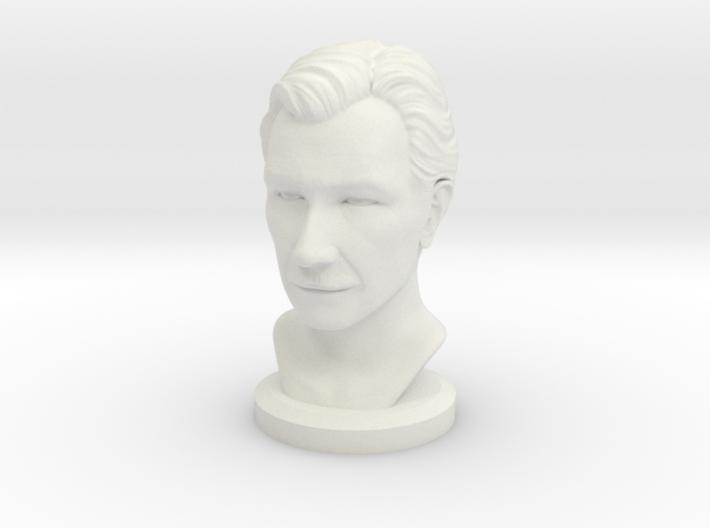 Gary Oldman Bust 3d printed