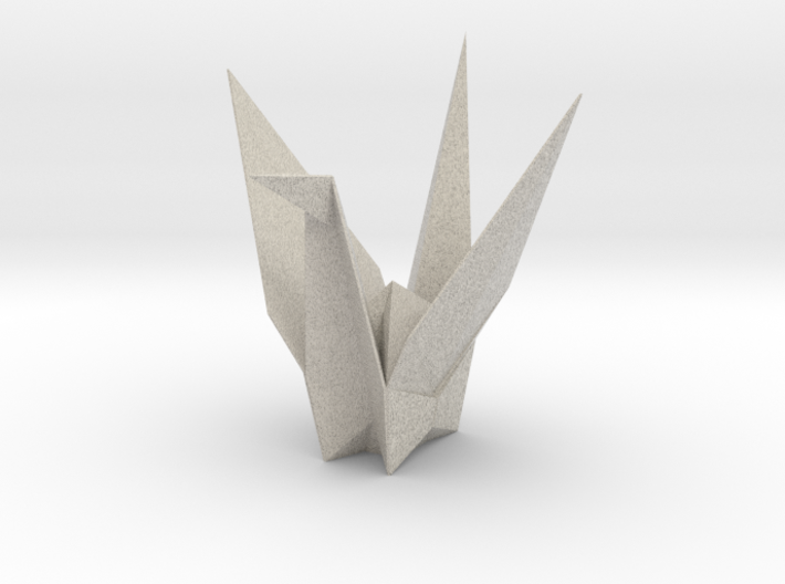 Origamix Crane Aa995a3c3157e9cca46343c6e6a5a8bc7-o 3d printed