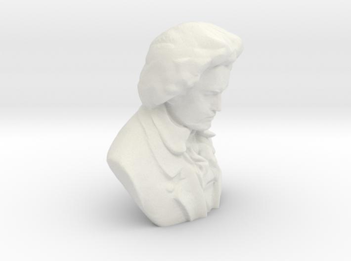 Ludwig Van Beethoven 3d printed
