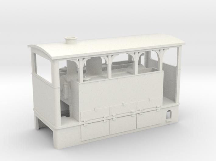 HOe Blanc Misseron Bicabine 3d printed