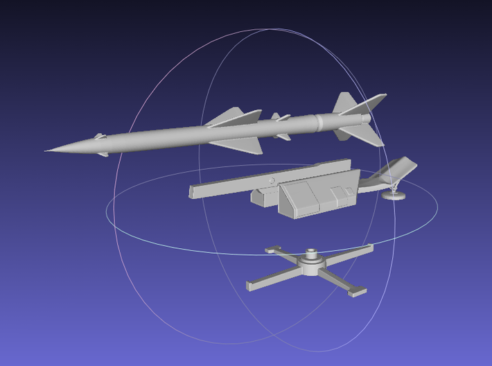 1/144 SA-2 Guideline / S-75 Wolchow 3d printed