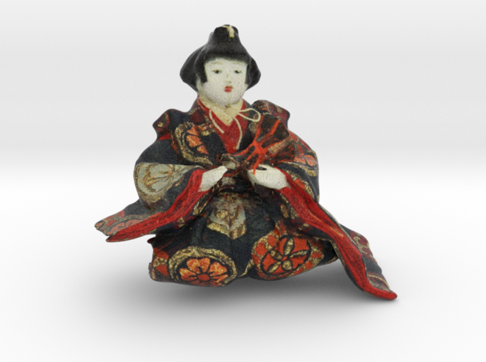 The Japanese Hina Doll-3 3d printed