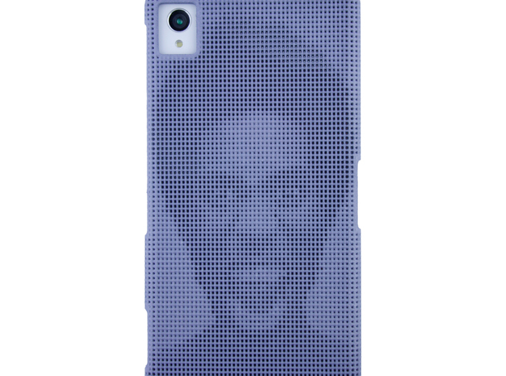 Sony Xperia Z1 3D Printed case - Portrait collecti 3d printed Picture to show the effect on the actual phone.