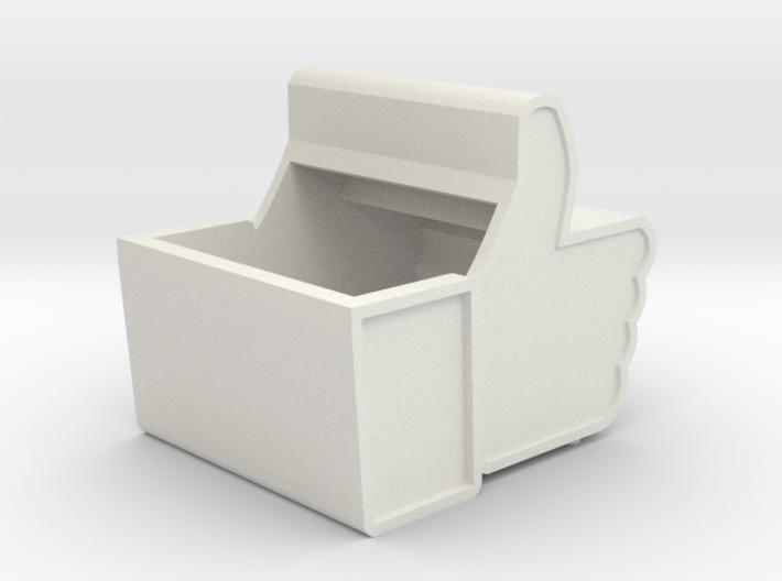Facebook Box 3d printed