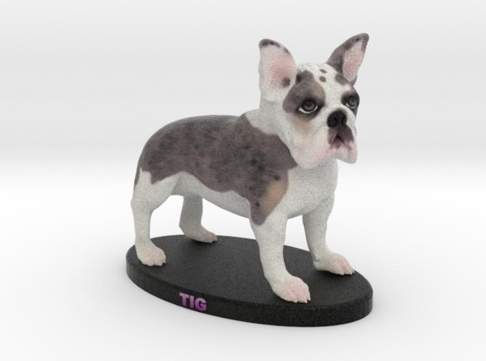 Custom Dog Figurine - Tig 3d printed