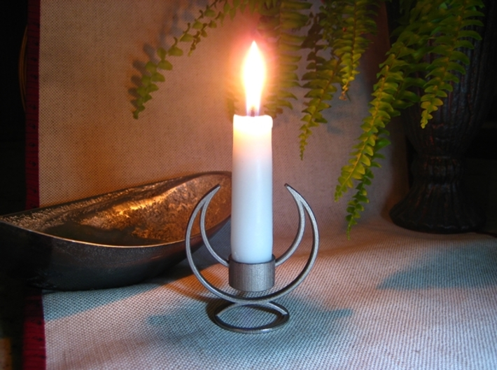 Candle Holder - 3D printed Candleholder 3d printed Solstice Candle Holder - Illuminate the Night