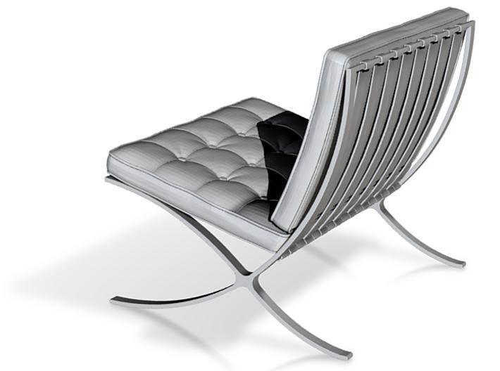 Barcelona Chair 3d printed