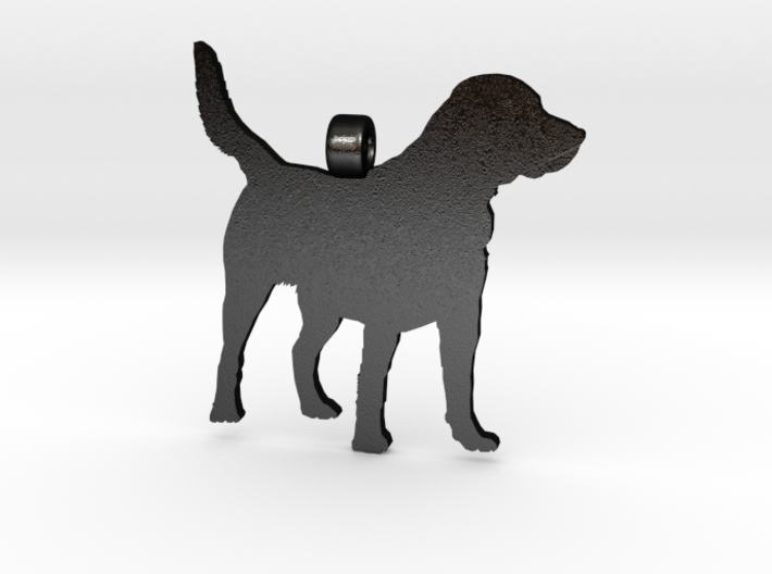 labrador retriever silhouette pendant 3d printed my personal favorite it has just the right texture