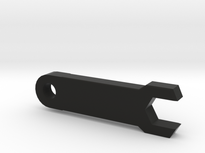 Customizable SMA Spanner Key ring 3d printed