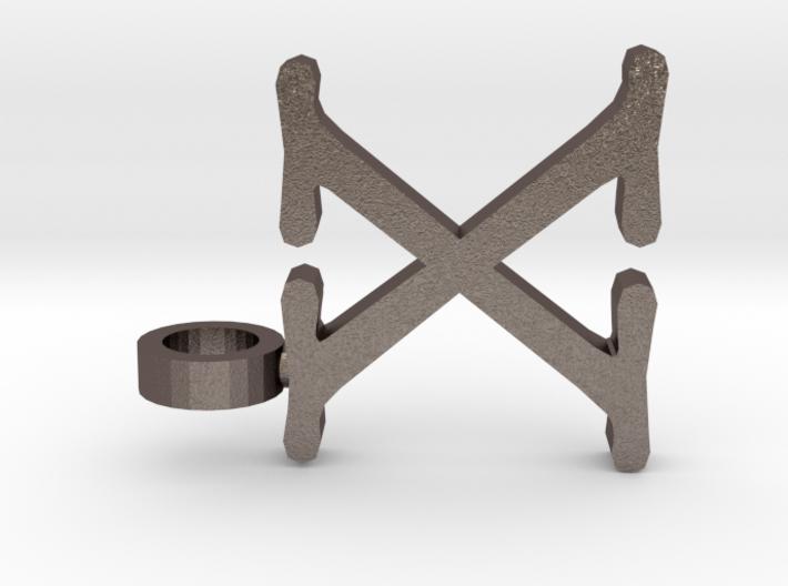 X Letter Pendant 3d printed