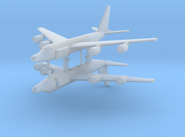 1/700 RC-135W Rivet Joint (x2) 3d printed