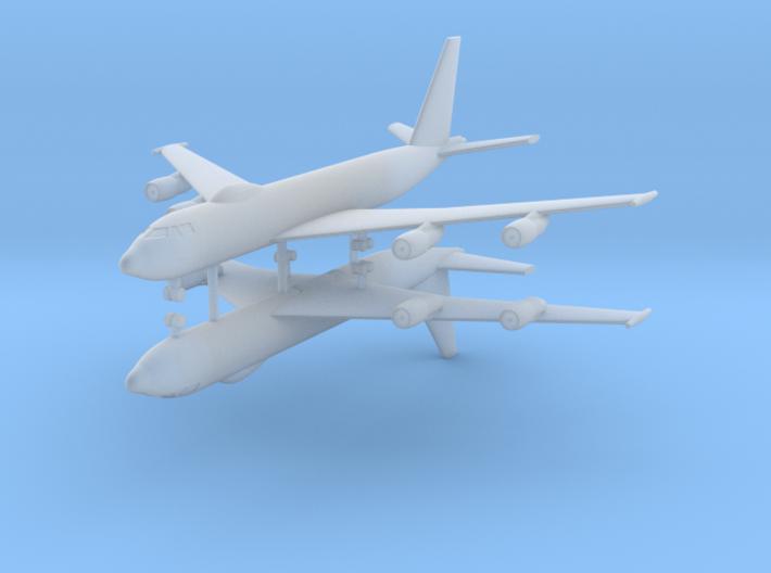 1/700 E-6B Mercury (x2) 3d printed