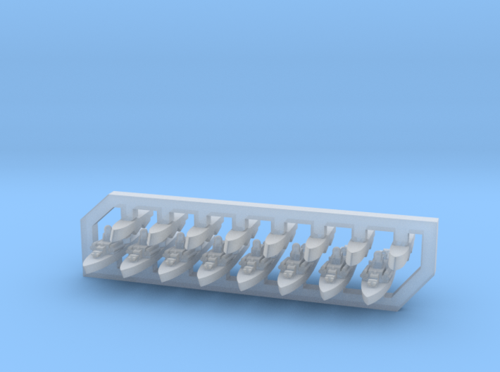 60SS03 1:6000 Nanuchka + Osa (8+8 models) 3d printed