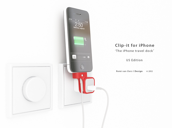 Clip-it US edition 3d printed