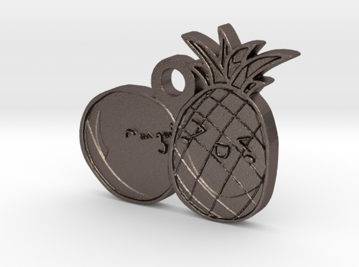 Love Fruits 3d printed