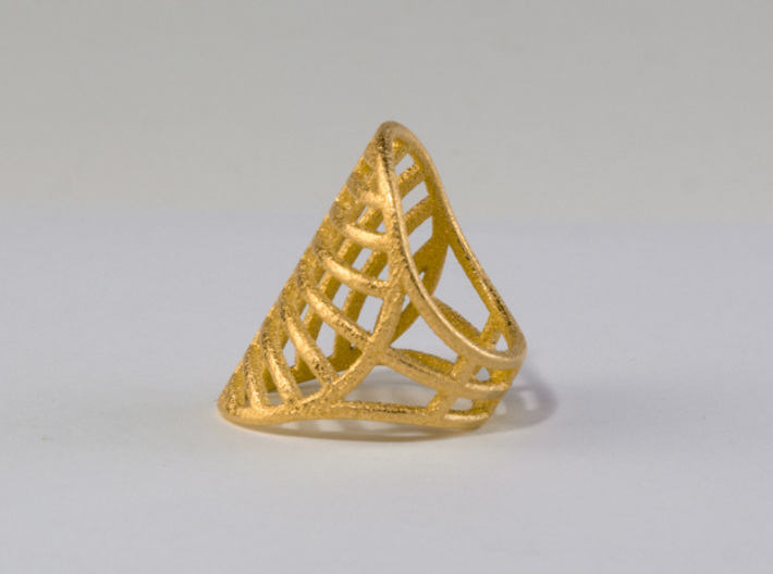 Le Soleil d'Or - Size 8 3d printed Side