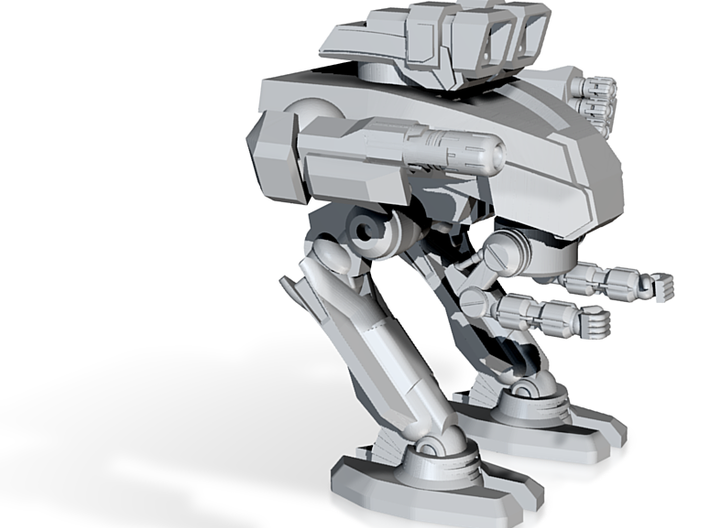 Leviathan Combat Walker WIP - 6mm scale 3d printed