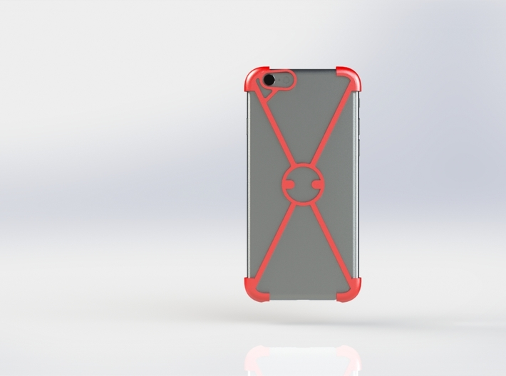 """""""X"""" For iPhone 6 3d printed"""