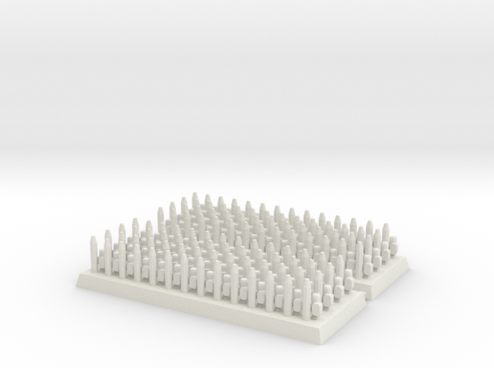 3mm DBA Spears 40x15mm (x2) 3d printed
