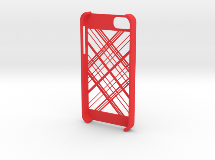 iphone5 Abstract Lines 3d printed