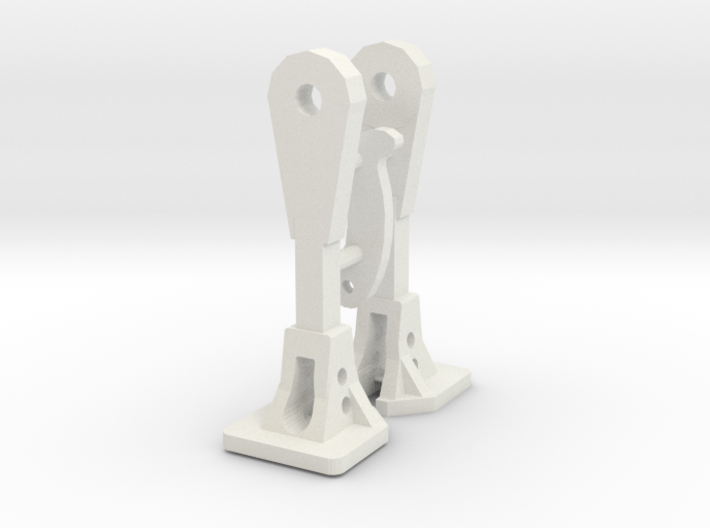 1:64 Nzr Coupler - Square 2 Incl Hook 3d printed