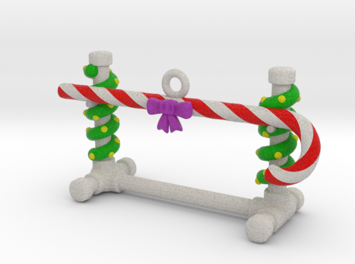 Obedience Bar Jump Christmas Ornament 3d printed