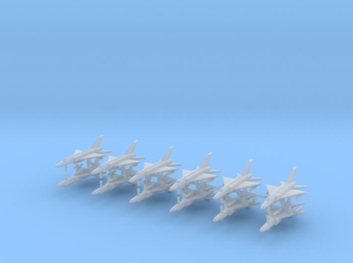 1/600 Shenyang J-8 Finback (x12) 3d printed