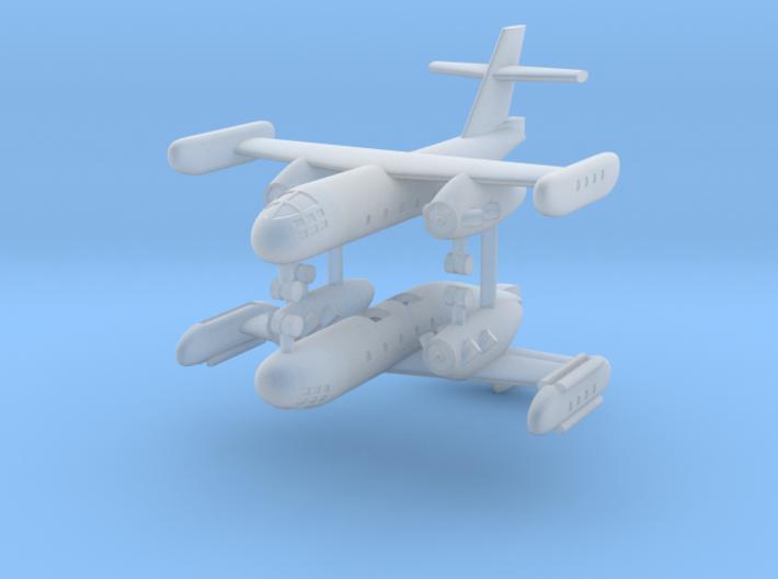 1/600 Dornier Do 31 VTOL (x2) 3d printed