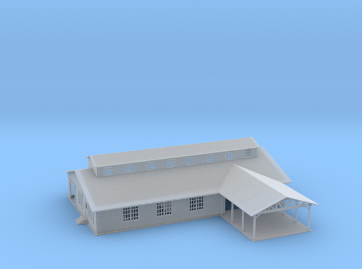 Lumber Or Saw Mill Z Scale 3d printed Lumber Or Saw Mill Z scale