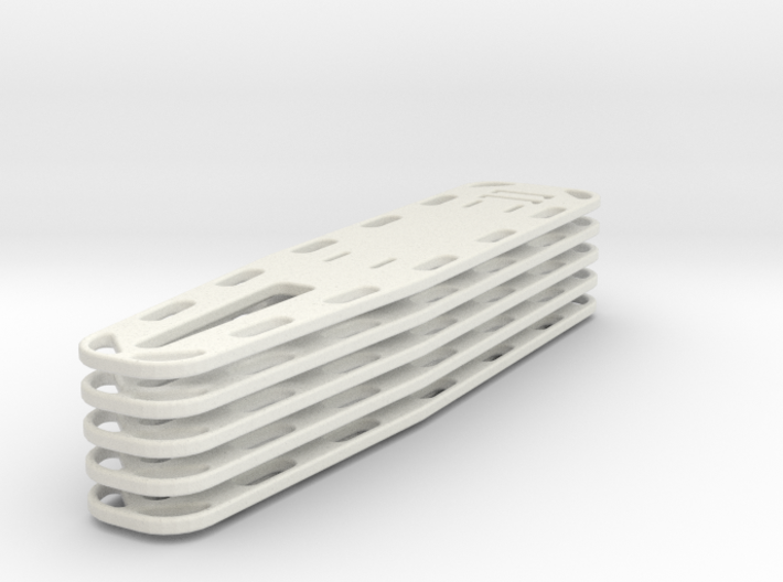 1/24 scale Nar Spineboard set of 5 3d printed