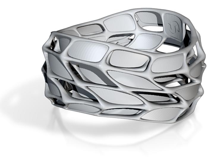 Panel Twist Bracelet (Sz ML) Thicker S 3d printed